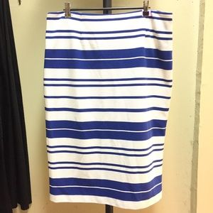 New with tags Calvin Klein striped skirt.